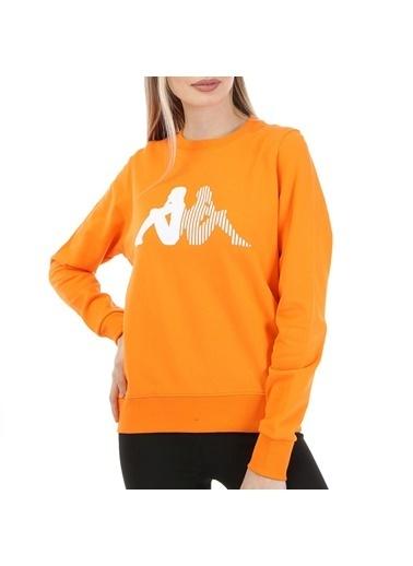 Kappa Kadın Sw-Shirt Arbır  Oranj